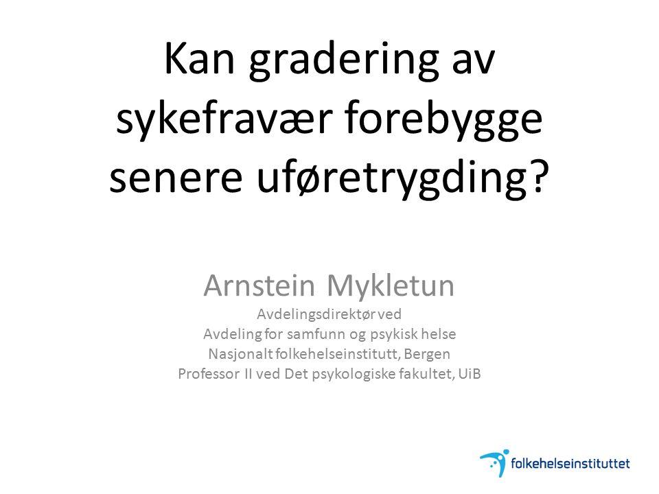 Markussen, Mykletun, Røed. IZA DP No 5343, Nov 2010