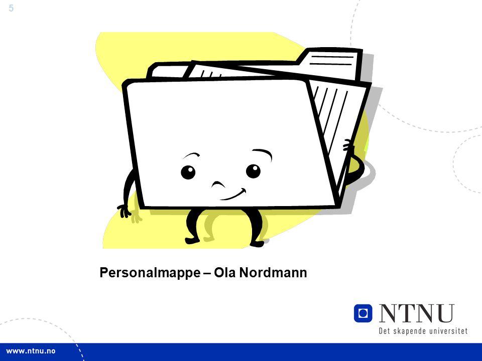 5 Personalmappe – Ola Nordmann