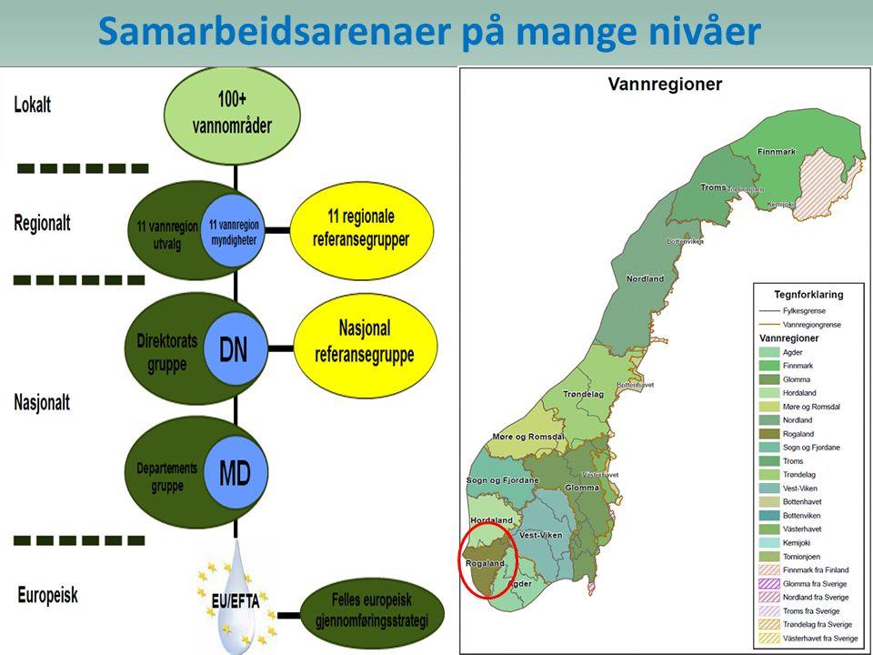 Vannregion Rogaland VRU Jæren VOU Ryfylke VOU Haugaland VOU Dalane VOU VRU: Vannregionutvalget (forskriftsfestet) VOU: Vannområdeutvalg (anbefalt) VRM : Vannregionmyndighet - «myndighet» til å koordinere og samordne!