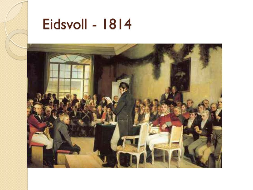 Eidsvoll - 1814