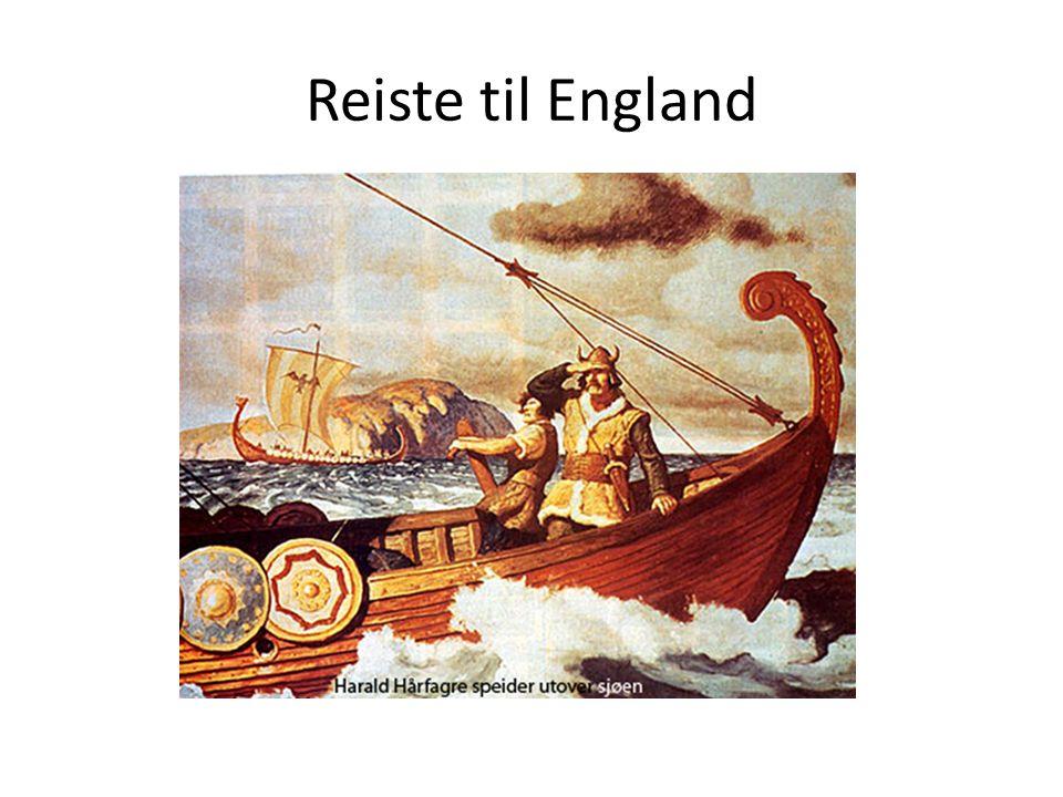 Reiste til England