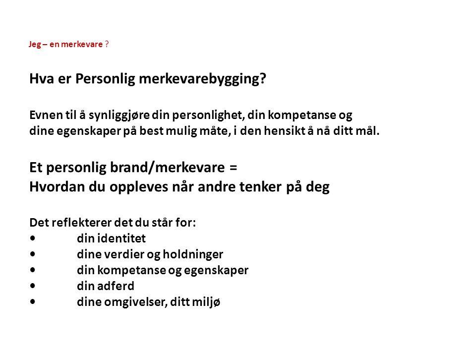 Drømmejobben VisjonDrøm Rolle Hvilken rolle vil du ha.