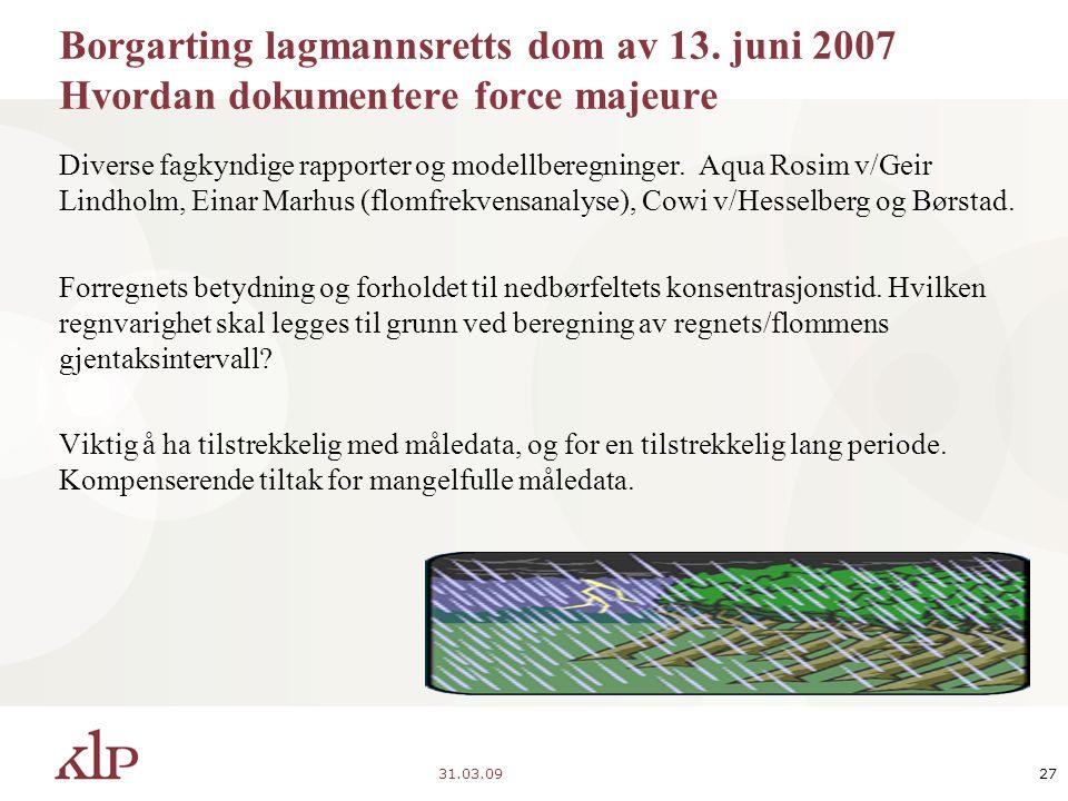 31.03.0927 Borgarting lagmannsretts dom av 13.
