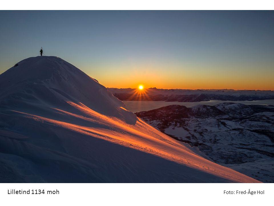 Lilletind 1134 moh Foto: Fred-Åge Hol