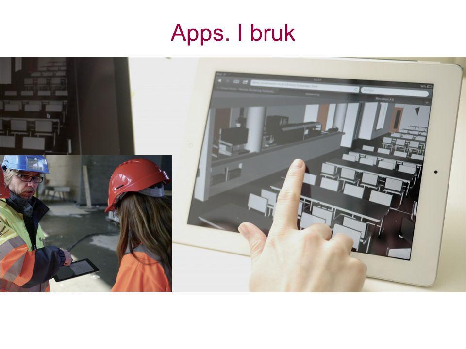 Apps. I bruk