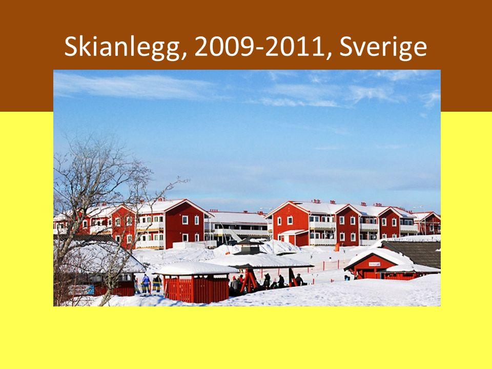 Skianlegg, 2009-2011, Sverige