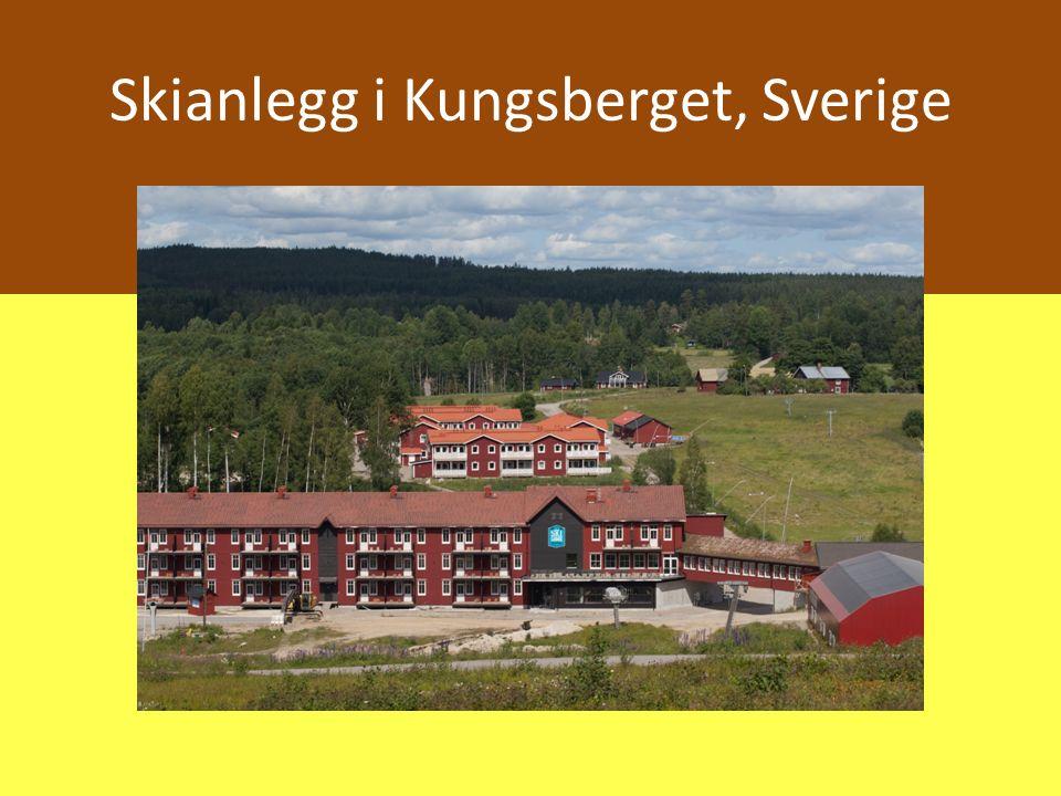 Skianlegg i Kungsberget, Sverige