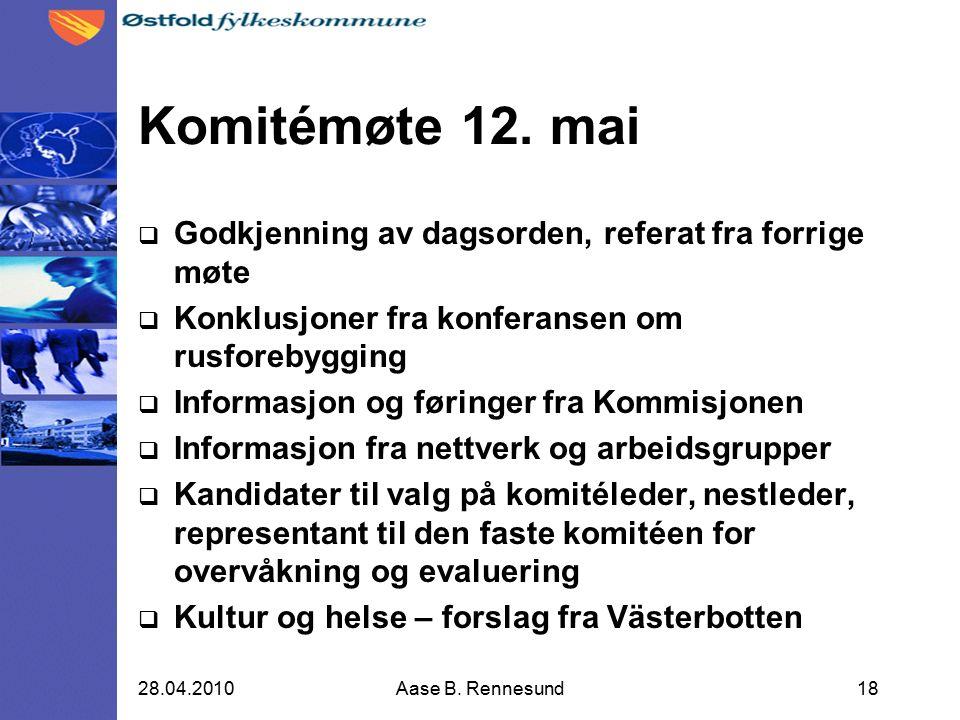Komitémøte 12.