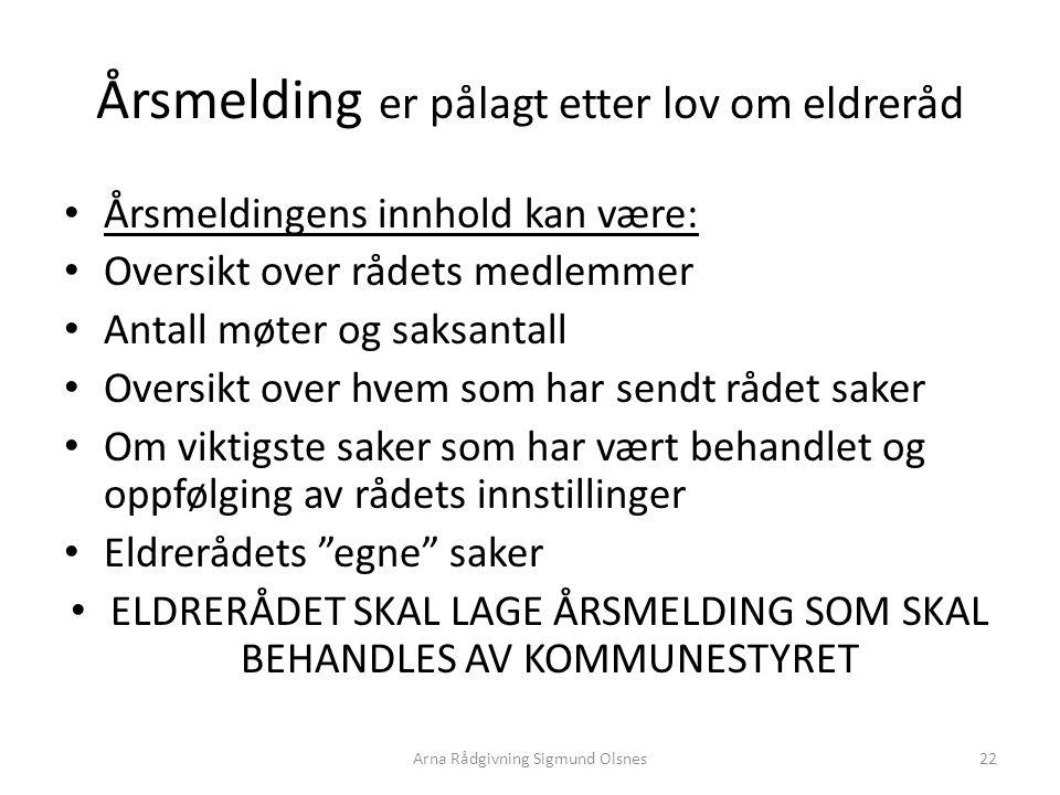 Noen andre måter å organisere offentlige tjenester på Samarbeid mellom kommuner og fylkeskommuner Kommunal selskapsdannelse Helseforetak Arna Rådgivning Sigmund Olsnes23