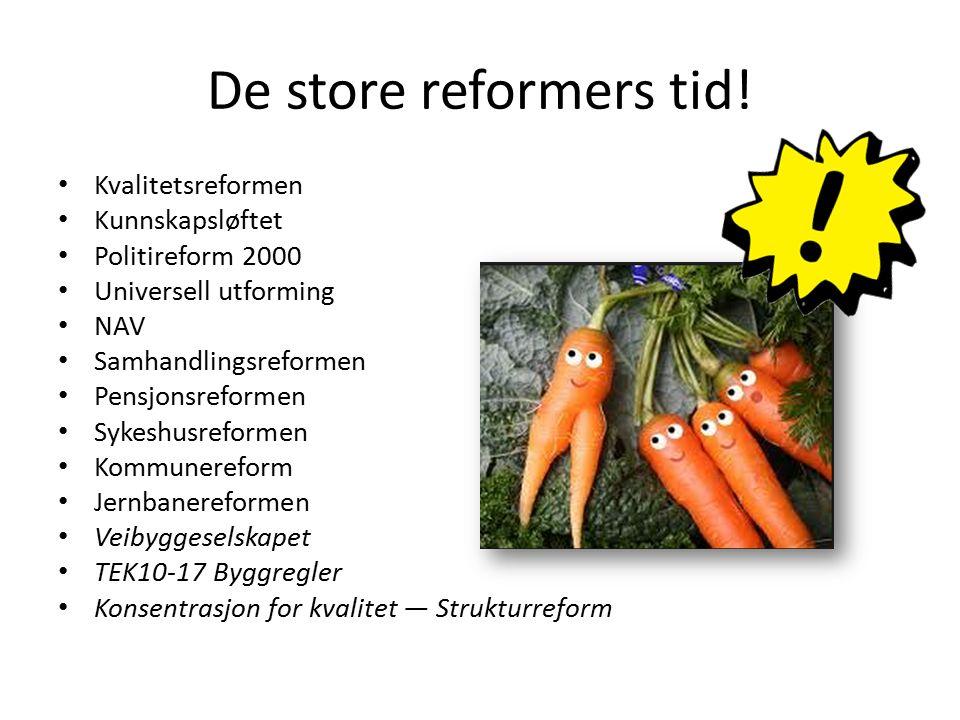 De store reformers tid.