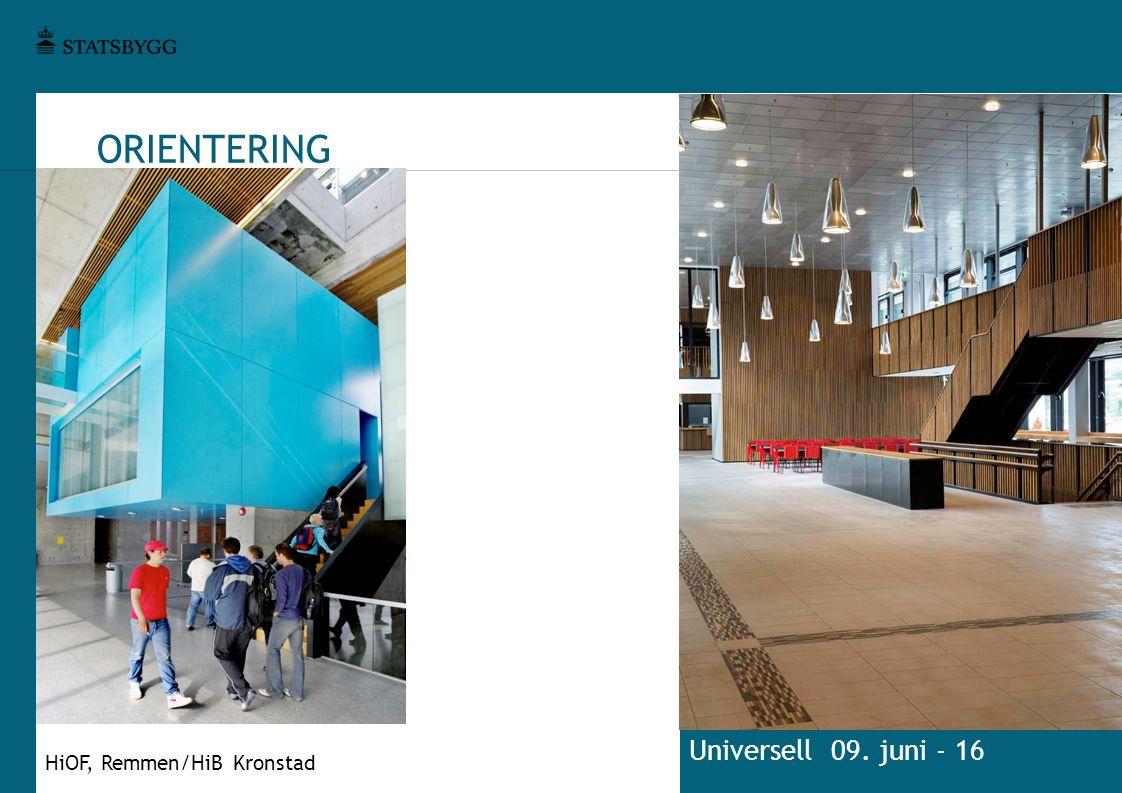 ORIENTERING Universell 09. juni - 16 HiOF, Remmen/HiB Kronstad