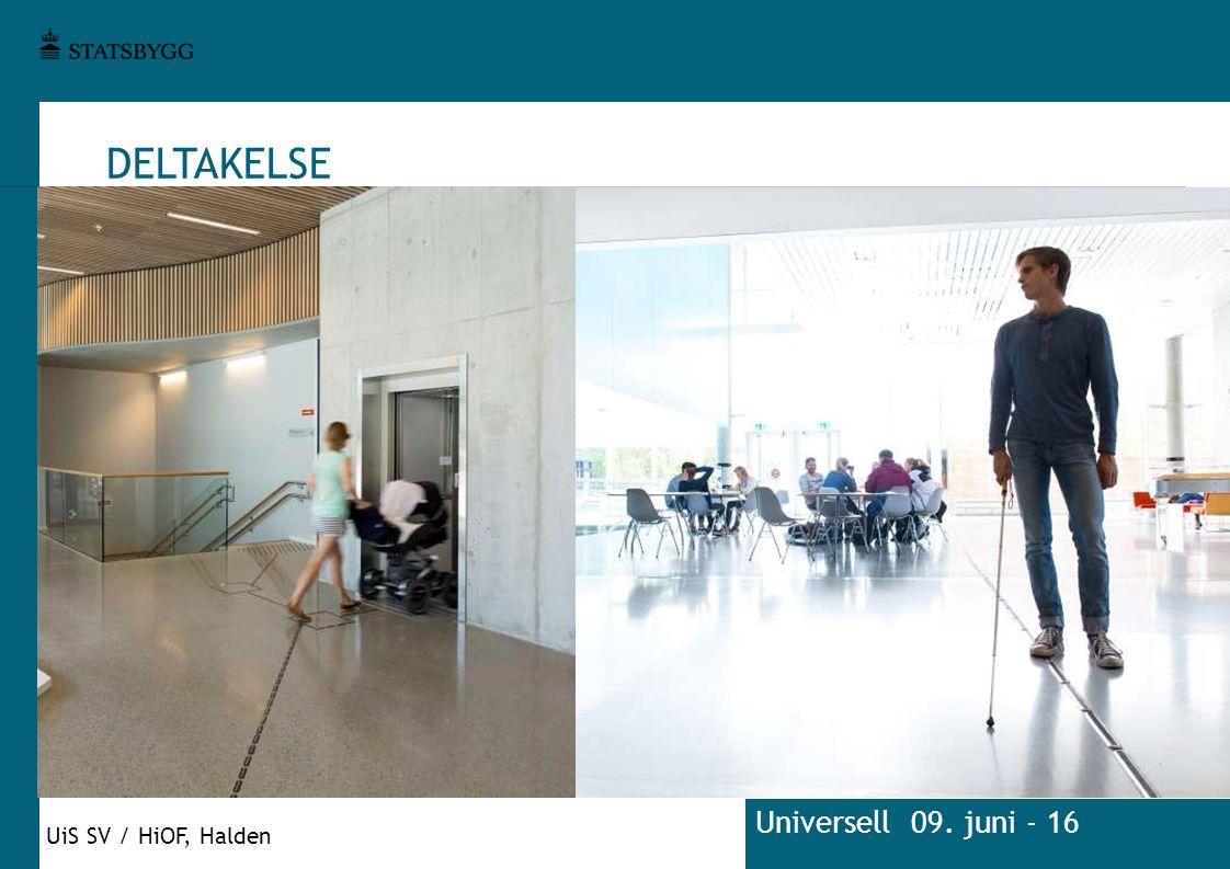 DELTAKELSE Universell 09. juni - 16 UiS SV / HiOF, Halden