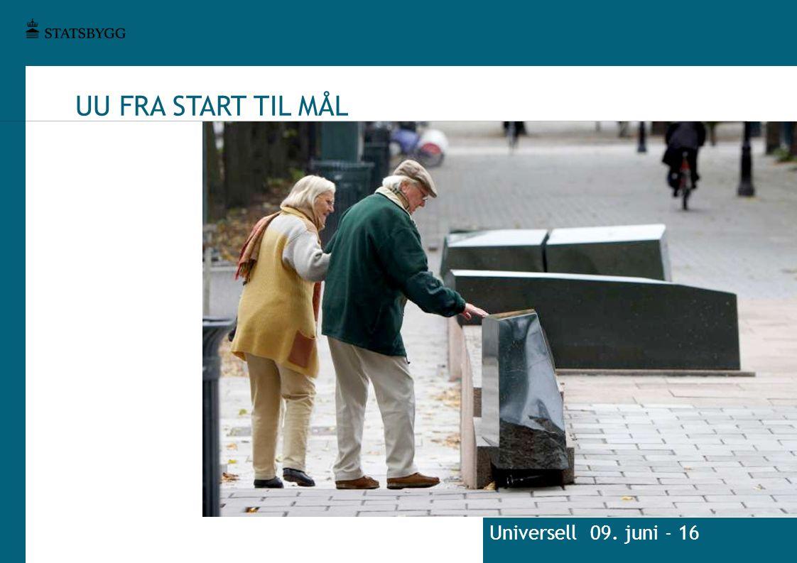 UU FRA START TIL MÅL Universell 09. juni - 16