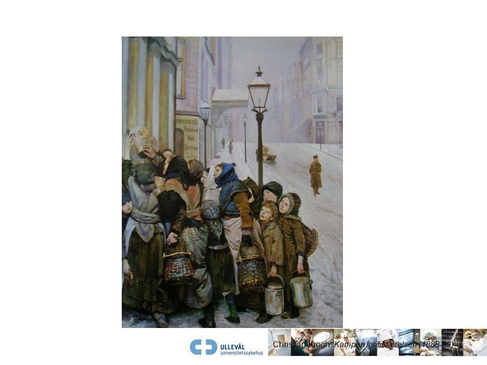 Christian Krogh: Kampen for tilværelsen (1888-89)