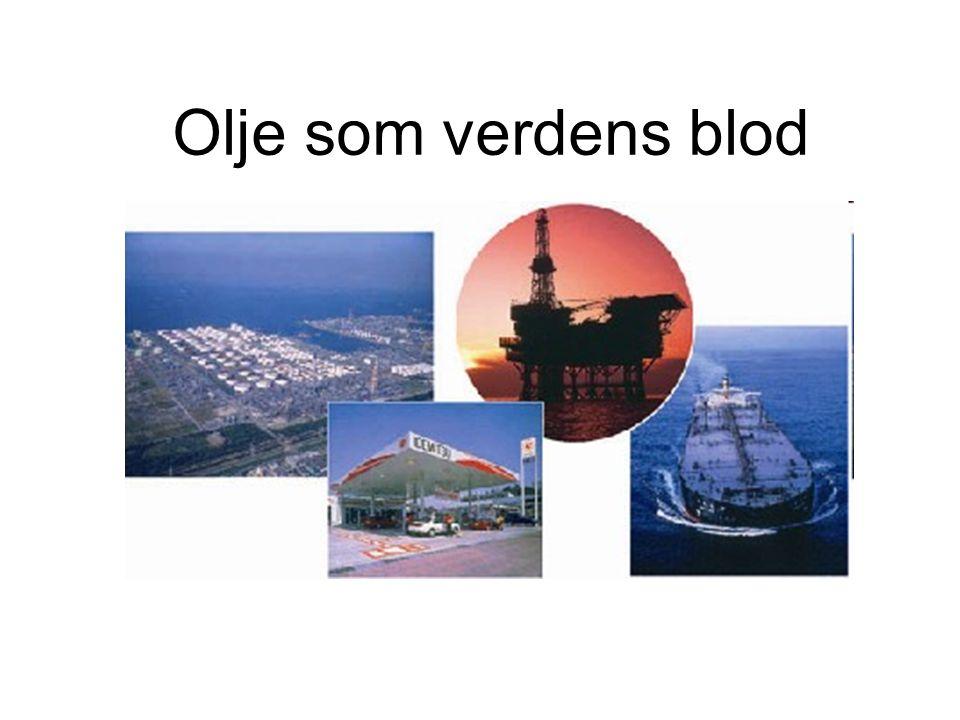 Olje som verdens blod