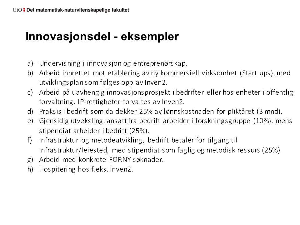 Status: 3 Stillinger tildelt Endringsmiljøer Frist for skisser til 2 x 4 stillinger 15.