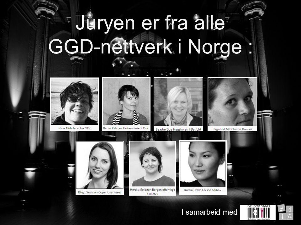Nominasjoner fra Girl Geek Dinners- nettverket i Norge og publikum Research om 30 kandidater Juryen valgte ut seks finalister Åpen avstemning om de seks finalistene Siste ord i juryen 5 jurymøter på Google Hangout Juryens arbeid I samarbeid med