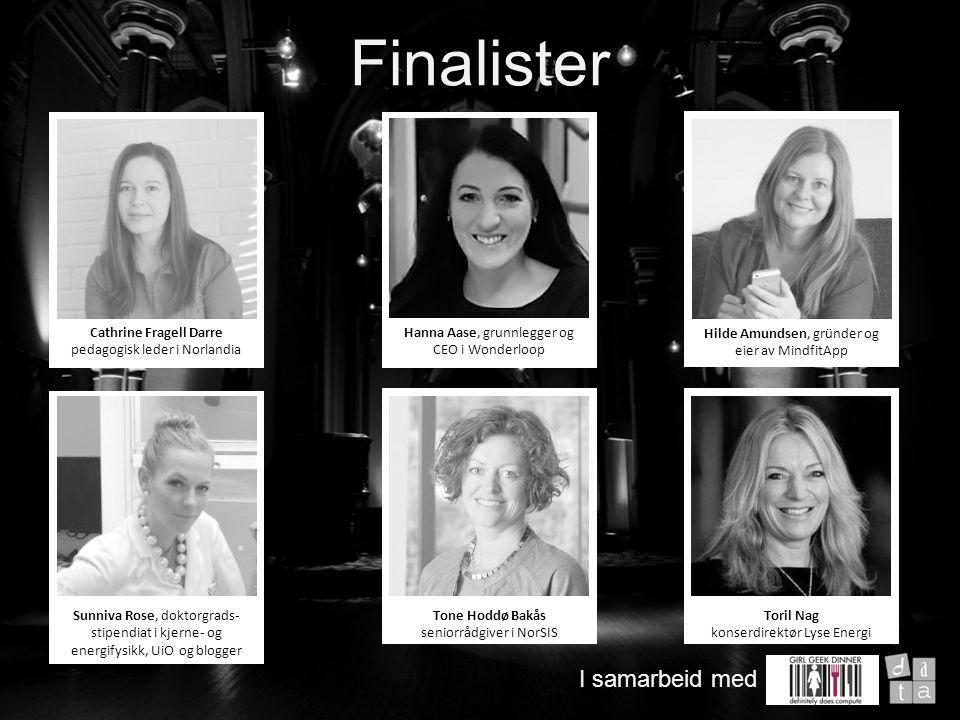 Velkommen til Juryens begrunnelse for vinneren av Årets Girl Geek 2014 I samarbeid med