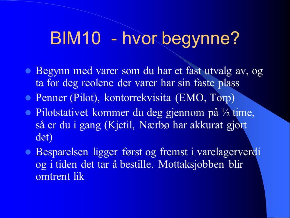 BIM10 - hvor begynne.