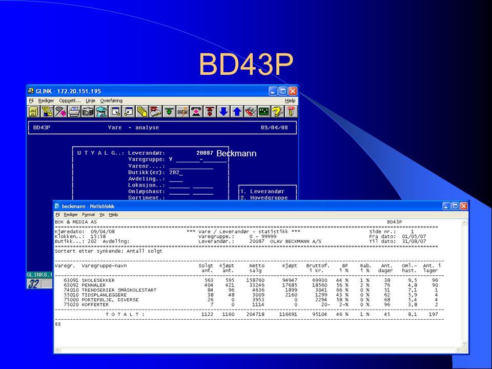 BD43P Beckmann