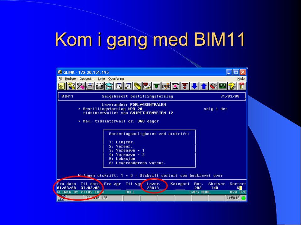 Kom i gang med BIM11