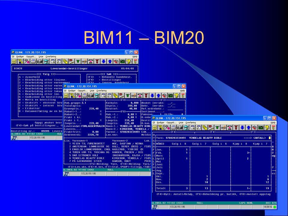 BIM11 – BIM20