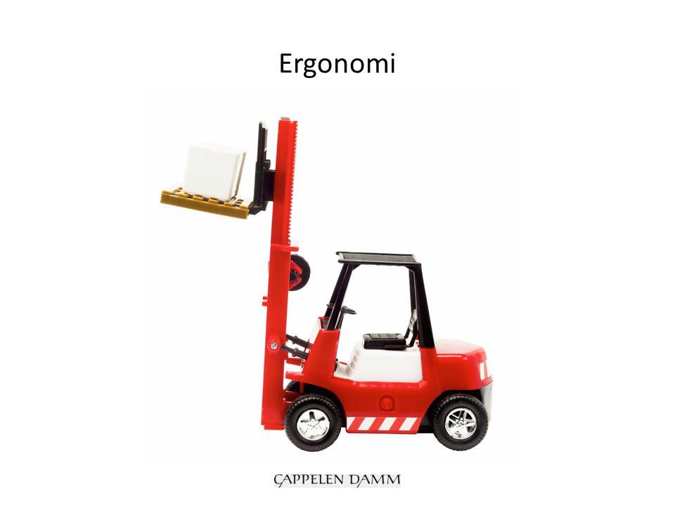 Hva er ergonomi.