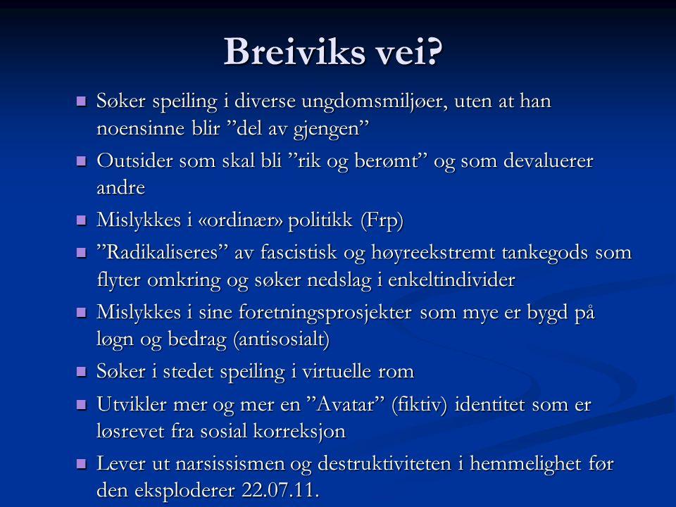 Breiviks vei.