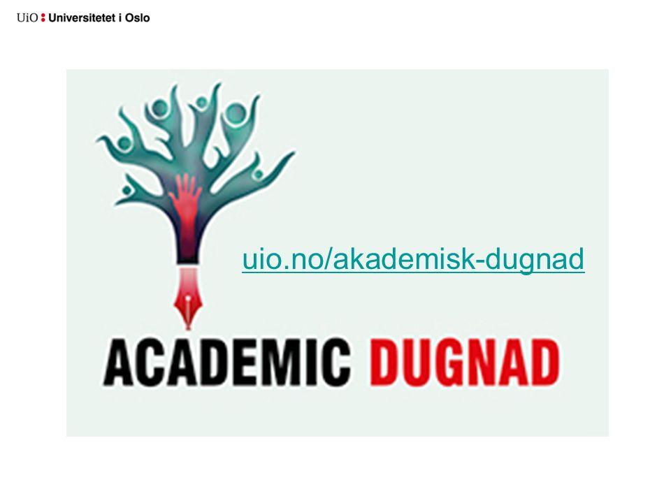 uio.no/akademisk-dugnad
