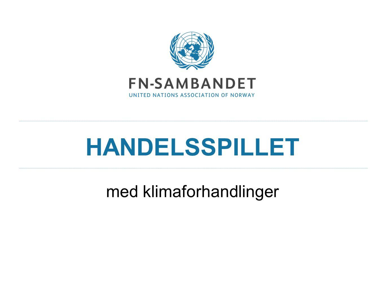 KLIMAFORHANDLINGER.FN kaller inn medlemslandene til klimaforhandlinger.