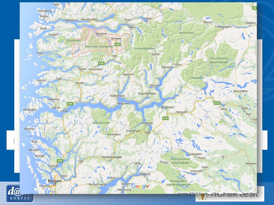 25 Nordfjord / Gloppen Modell fra Voss / Sykehuset Bærum / St.