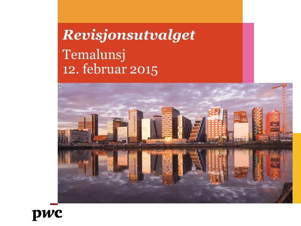 Revisjonsutvalget Temalunsj 12. februar 2015