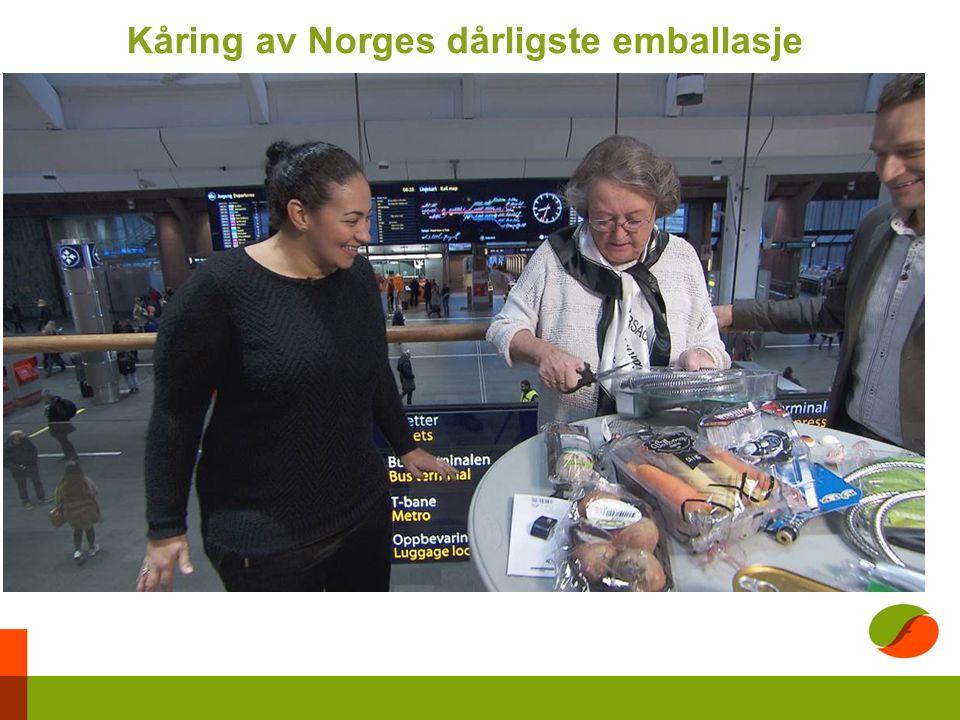 Kåring av Norges dårligste emballasje
