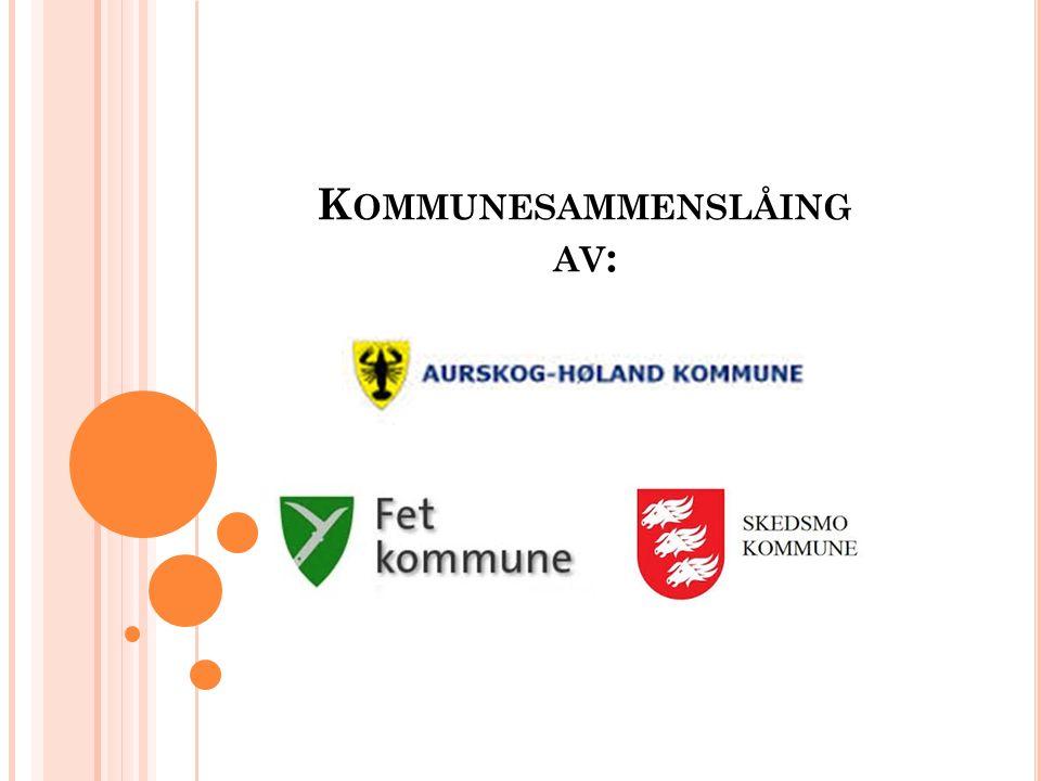 K OMMUNESAMMENSLÅING AV :
