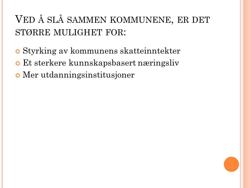 Hvis Aurskog-Høland slår seg sammen med en eller flere kommune før sommerferien 2016, vil kommunen få 40 000 000 av staten Vi ønsker at den nye kommunen skal bli en landkommune med flere muligheter for transport og flere fritidsaktiviteter