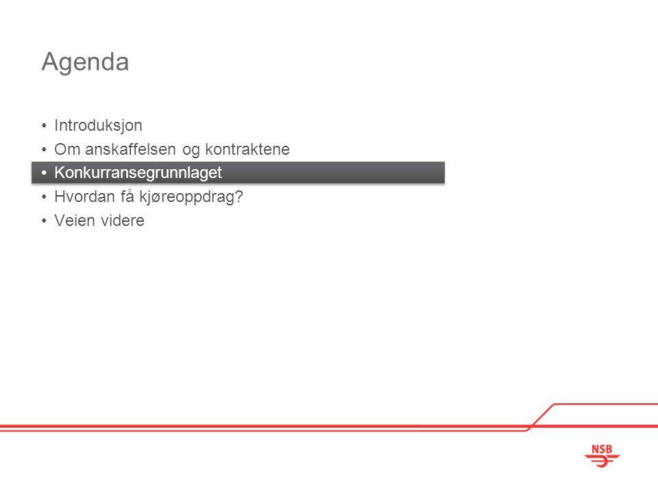 Agenda Introduksjon Om anskaffelsen og kontraktene Konkurransegrunnlaget Hvordan få kjøreoppdrag.