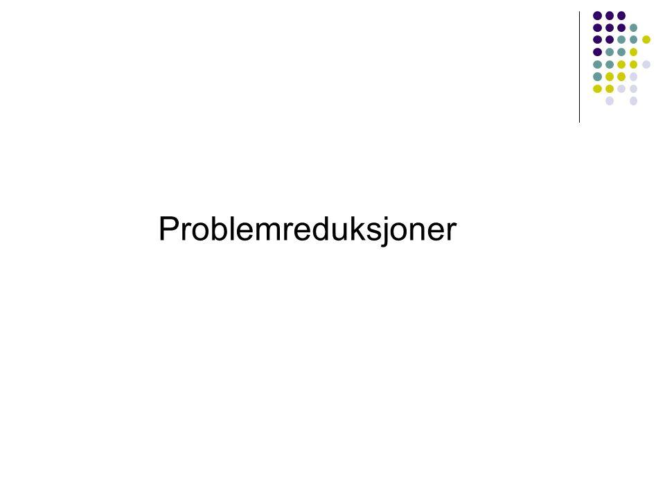 Problemreduksjoner