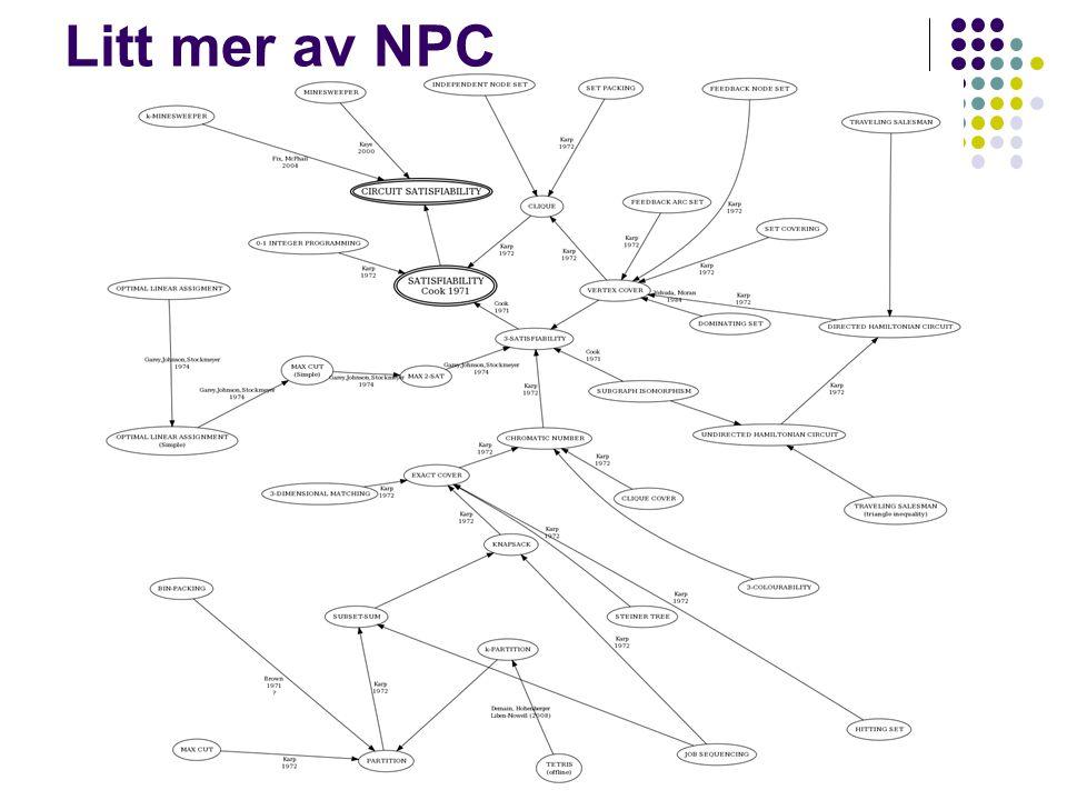 Litt mer av NPC