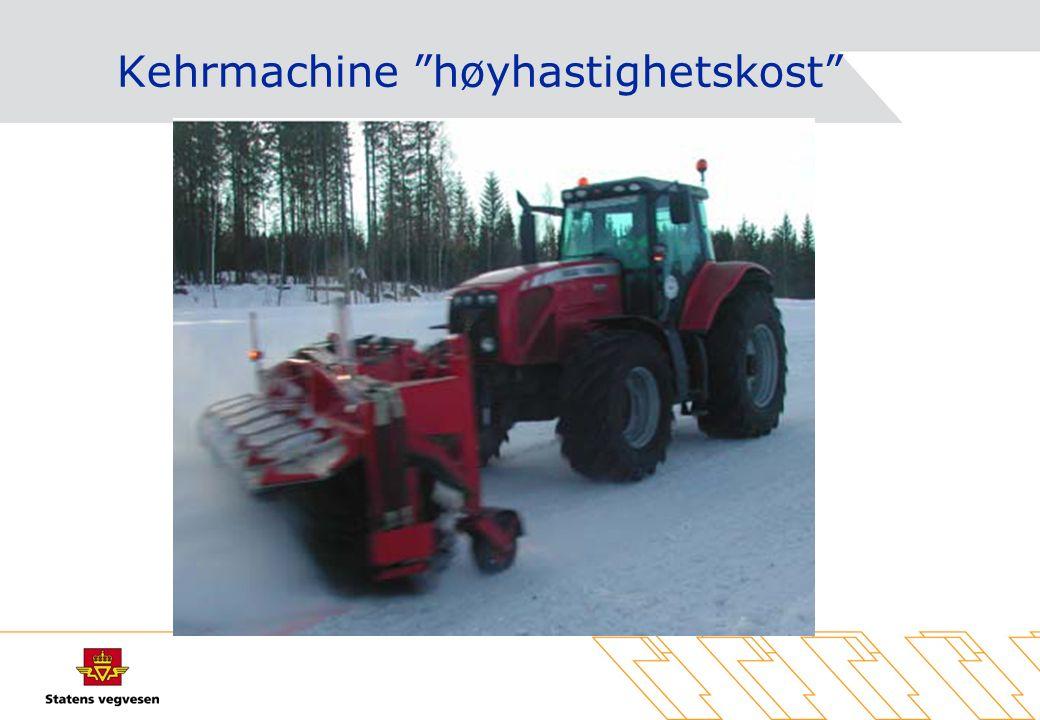 Kehrmachine høyhastighetskost