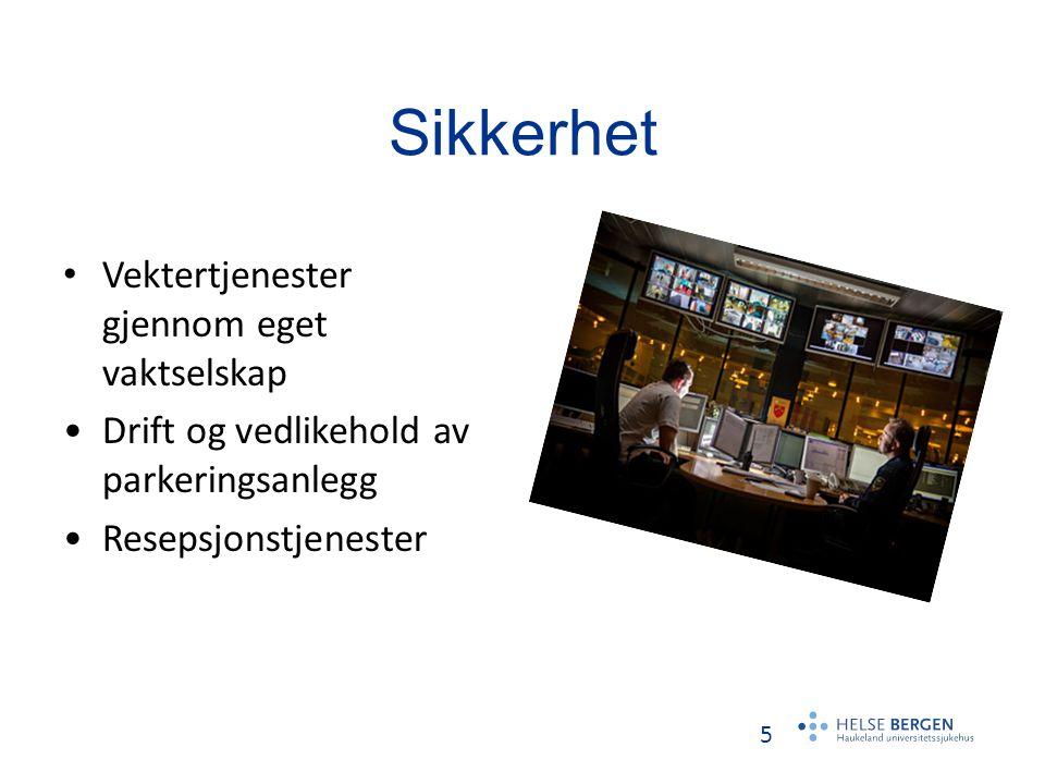 6 Sentralforsyning Betjener Helse Bergens hovedlager av standardiserte forbruksvarer.