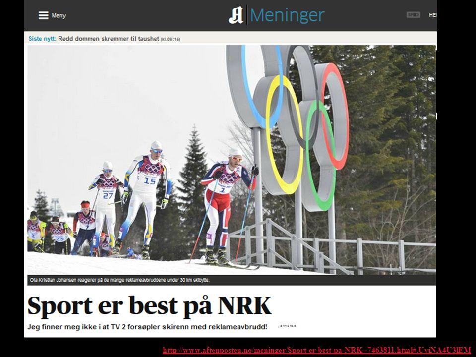http://www.aftenposten.no/meninger/Sport-er-best-pa-NRK--7463811.html#.UviNA4U3lEM