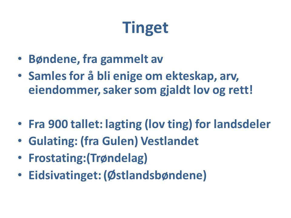 Håkon den gode Sønn av Harald Hårfagre (ca 920.ca 960) Sjøforsvar Leidang Skip med mannskap våpen og mat for to måneder
