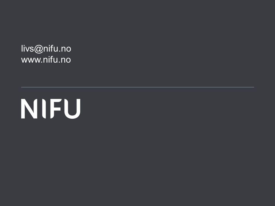 www.nifu.no livs@nifu.no