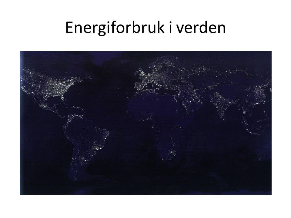Energiforbruk i verden