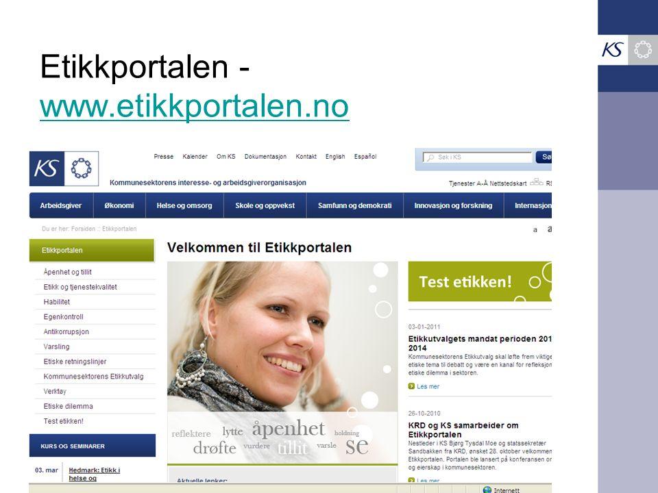 Etikkportalen - www.etikkportalen.no www.etikkportalen.no
