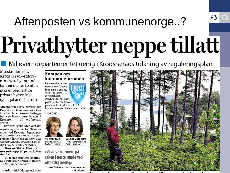 Aftenposten vs kommunenorge..