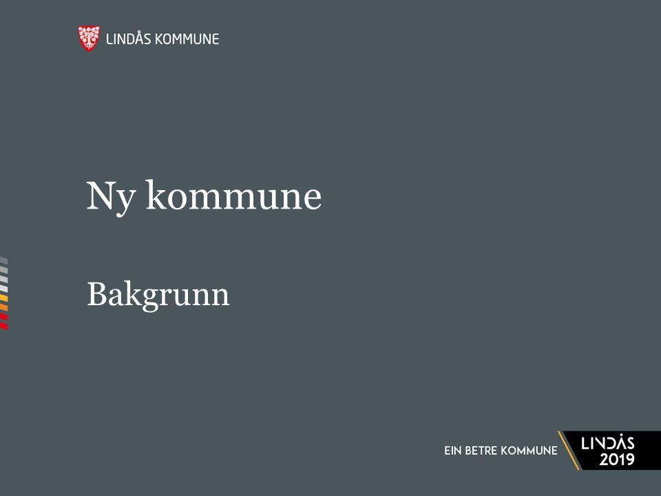 Ny kommune Bakgrunn