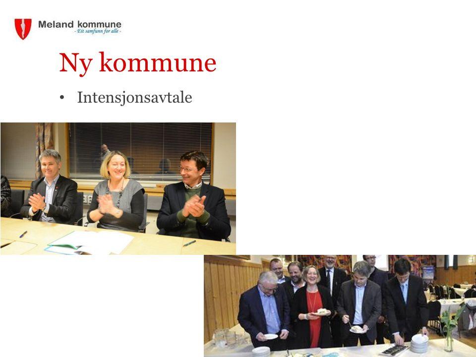 Ny kommune Intensjonsavtale