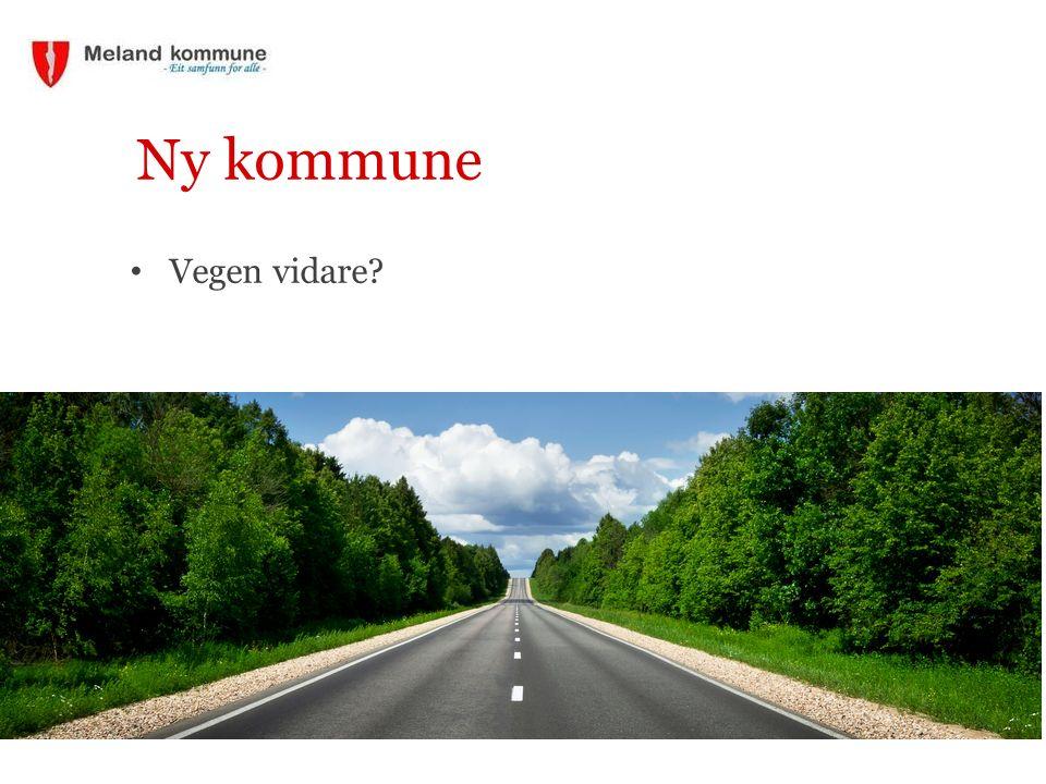 Ny kommune Vegen vidare