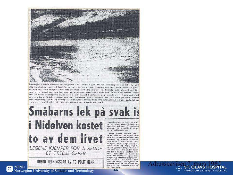 28 Adresseavisen 7. mars 1962